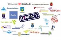 Logo Dimpact en aangesloten gemeenten